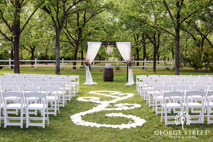 beautiful wedding altar wedding photo