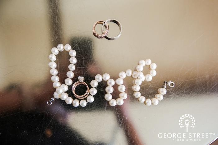 beautiful bridal accessories wedding photo