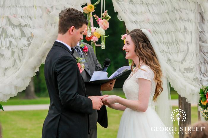 lovely wedding ceremony wedding photos