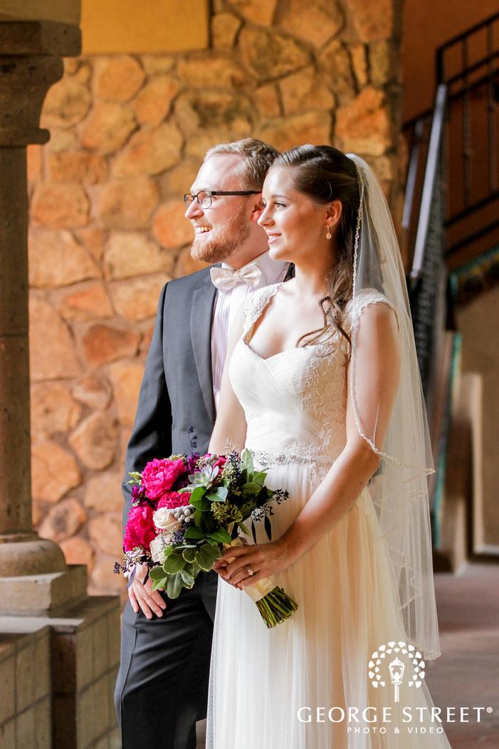 ravishing bride and groom wedding photo