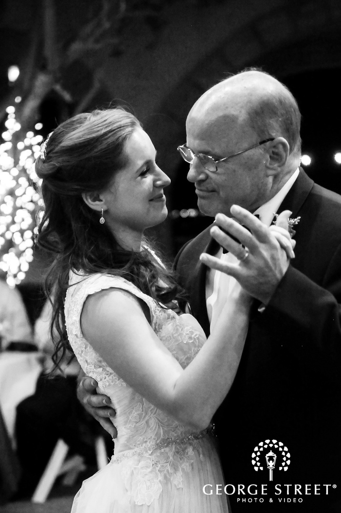 sweet bride and father reception dance