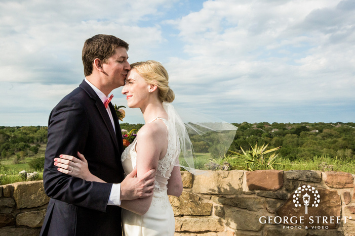 charming bride and groom wedding photo
