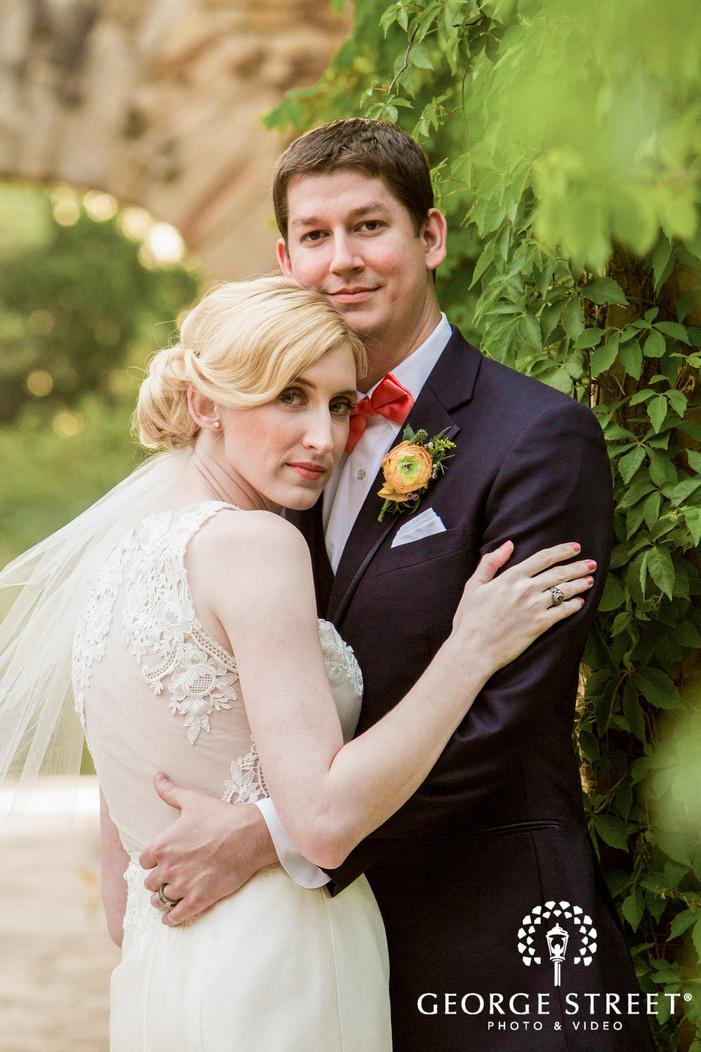 charming bride and groom wedding photography