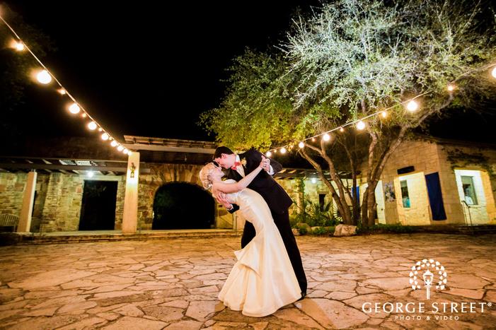 mesmerizing bride and groom at lady bird johnson wildflower center in austin