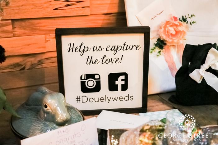 cute wedding details wedding photo