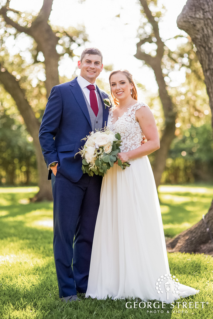 sweet bride and groom at the winfield inn in austin