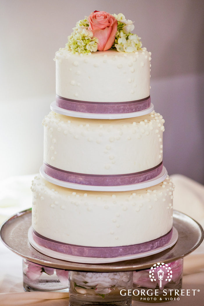 tiered wedding cake