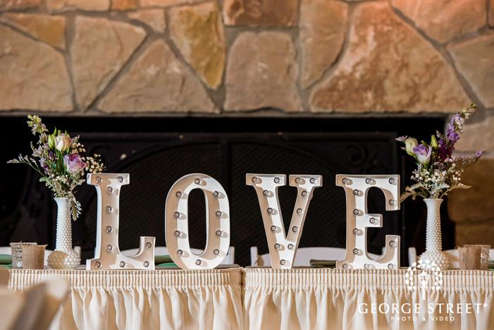 cross creek ranch dallas fort worth bride and groom recetpion table details wedding photos