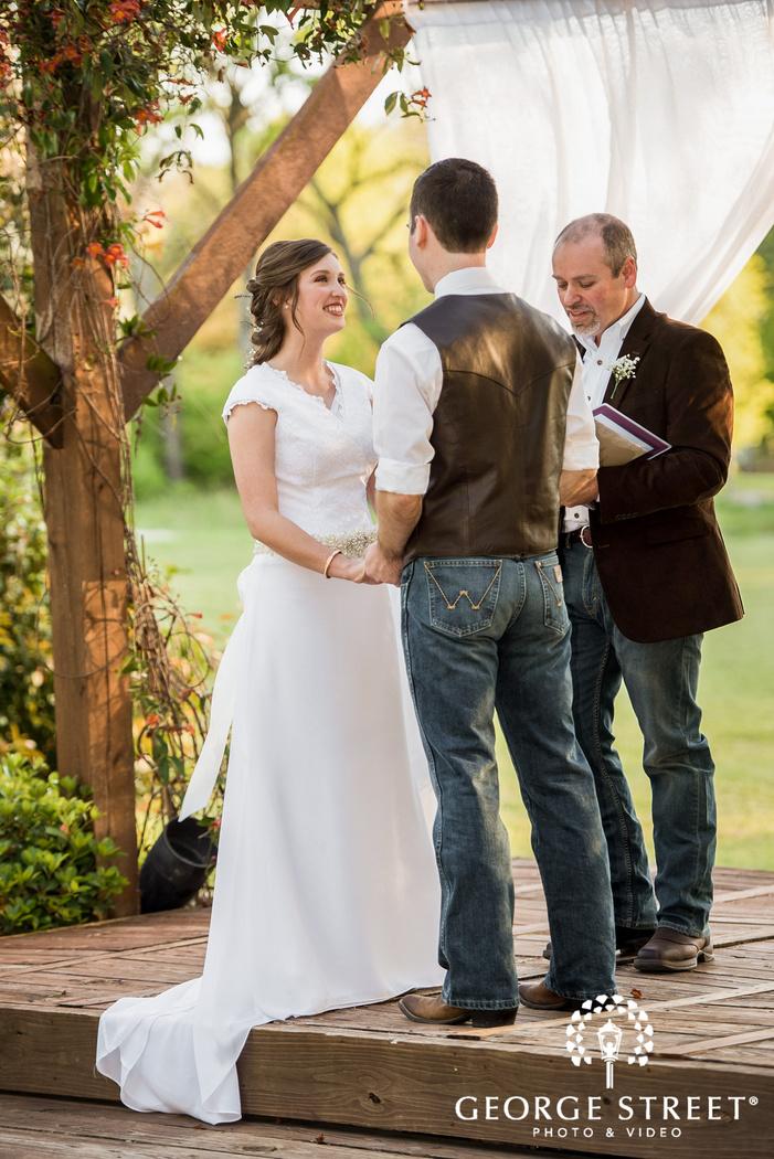 cross creek ranch mesmerizing wedding ceremony dallas fort worth wedding photos