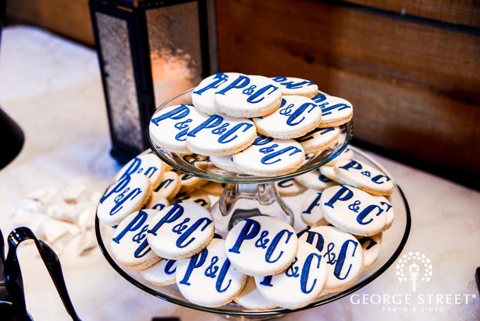 elegant wedding food details