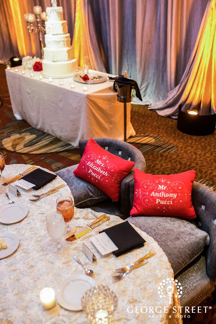 prestonwood country club bride and groom reception table dallas fort worth wedding photos