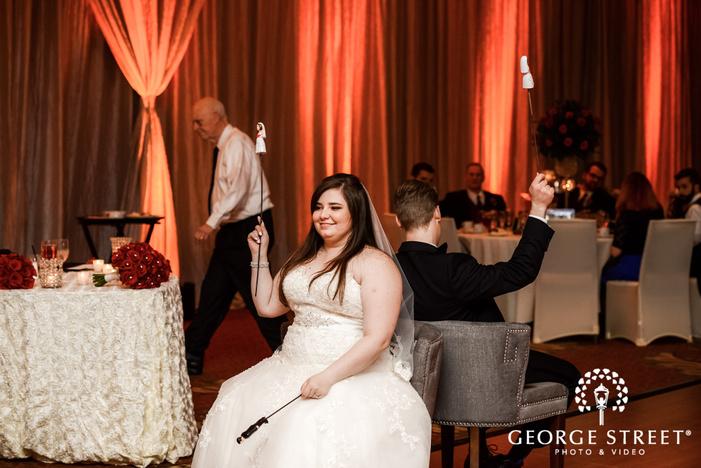 prestonwood country club couple on sofa playing game dallas fort worth wedding photos