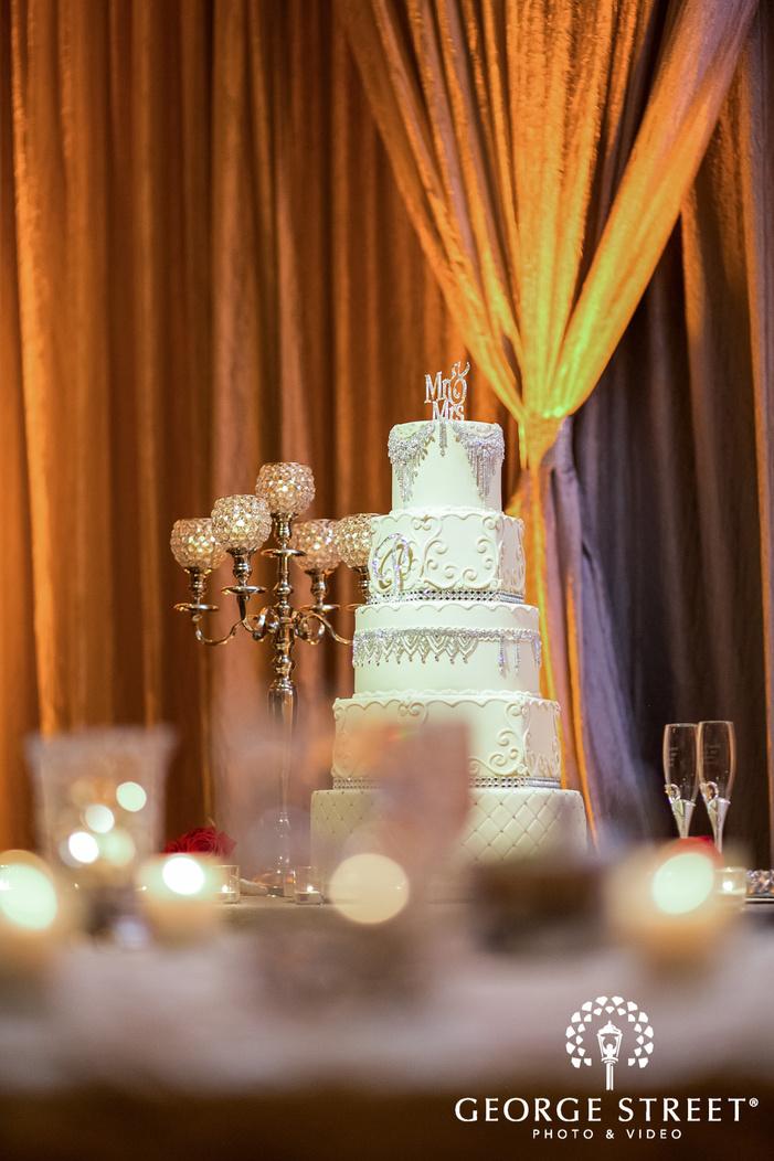 prestonwood country club elegant wedding cake dallas fort worth wedding photos