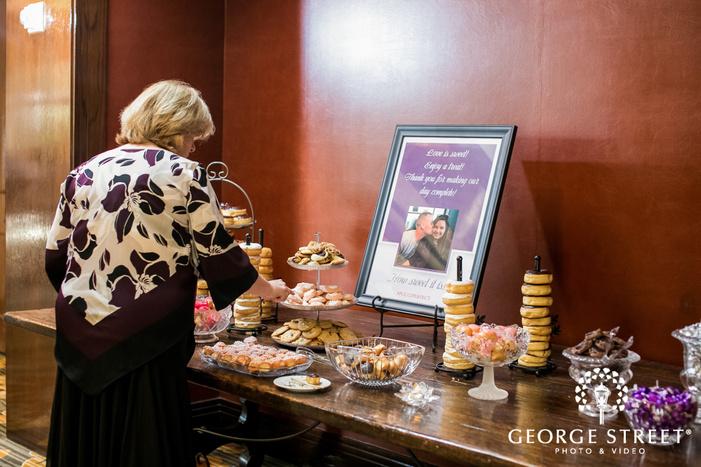 prestonwood country club reception dessert table dallas fort worth wedding photos