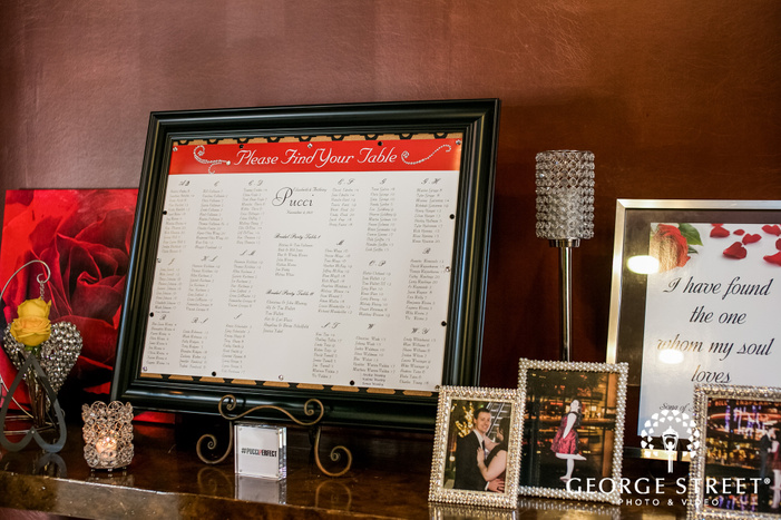 prestonwood country club reception seating chart dallas fort worth wedding photos