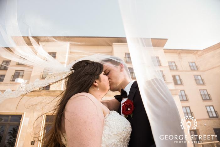 prestonwood country club romantic couple mansion dallas fort worth wedding photos