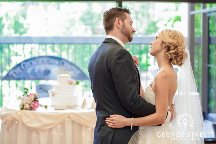 romantic couple reception ceremony dance wedding photo